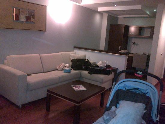 Marriott Executive Apartments Panama City, Finisterre: Sala