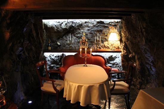 Svata Klara Restaurant: PRIVATE CAVE