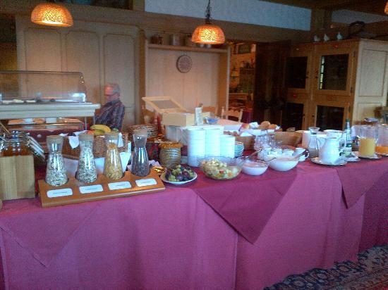 Schwarzwaldhotel Ruhbühl: Breakfast buffet