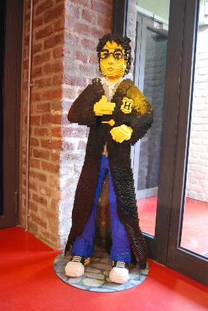 LEGOLAND Discovery Centre: Harry Potter made from Lego