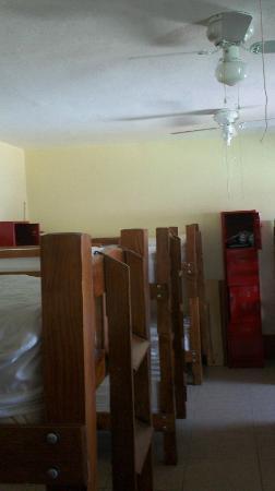 Olga Querida: Dormitorio y lockers