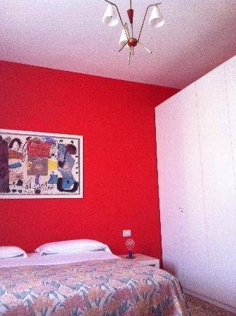 B&B Il Ghiro: la camera rossa!
