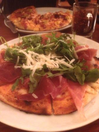 Pizzeria 7 Bello : Pizza Parma Ham et Rucola