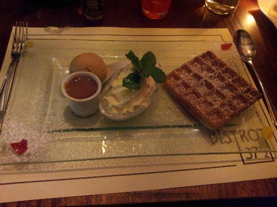 Le bistrot 37°2 : Gaufre,,,