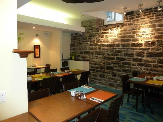 Hotel Le Vincent: salle à manger