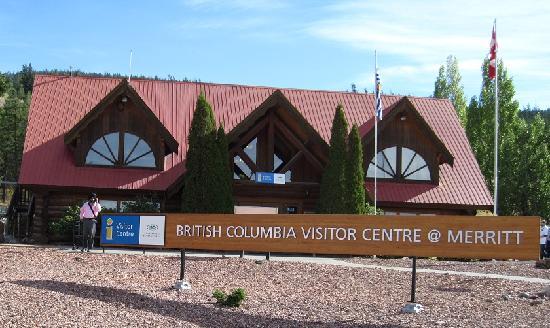 British Columbia Visitor Centre at Merritt