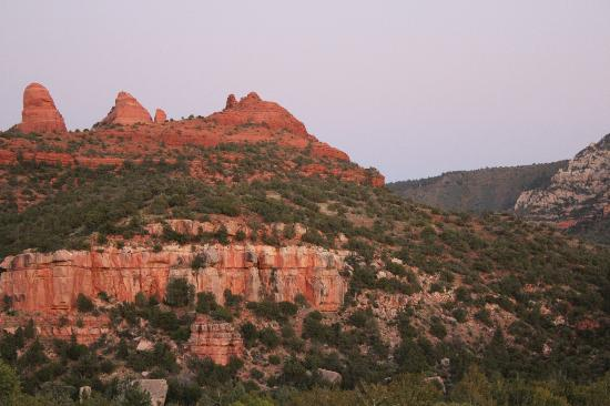 Best Western Plus Inn of Sedona: the view of the room