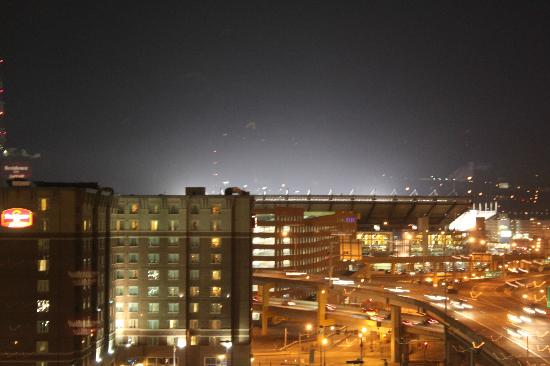 SpringHill Suites North Shore: Heinz Field from the room