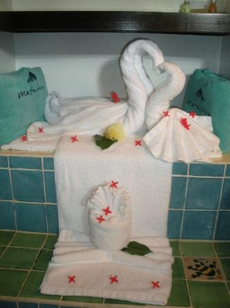 Matachica Beach Resort: Towel Animals