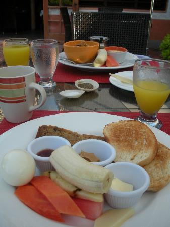 Matachica Resort & Spa: Breakfast