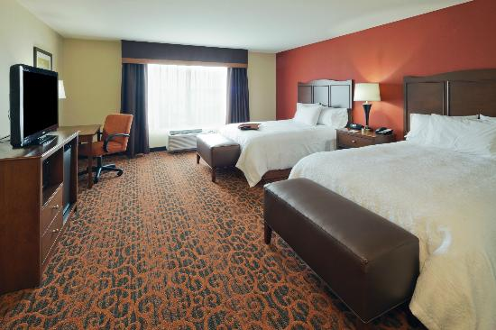 Hampton Inn Beloit: 2 Queen Bed Room