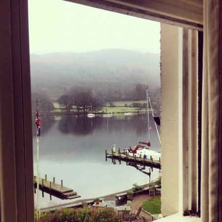 Lakeside Hotel: view from our room