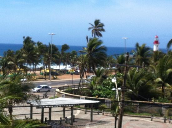 Mar Brasil Hotel: Vista da sacada do quarto no hotel Mar Brasil