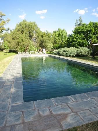Villa Victoria Lodge: pool area - bit too cold when we were there