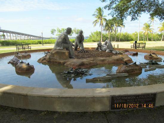 Centennial Park: Ford, Edison & Firestone