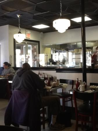 Mike's City Diner : il locale