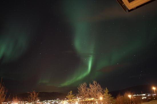 Northern Lights over Hotel Laxnes