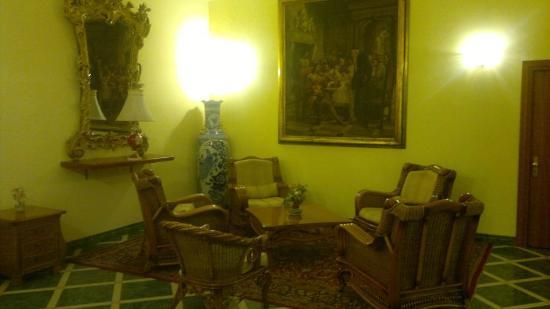โรงแรมอิมพีโร: sala de estar