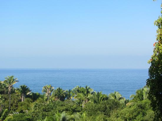 Hacienda de la Costa: View from our balcony