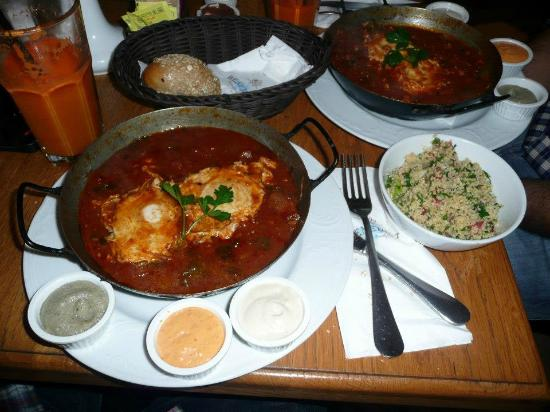 shakshuka at Benedicts!