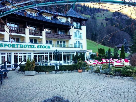 STOCK resort: Aussenbereich