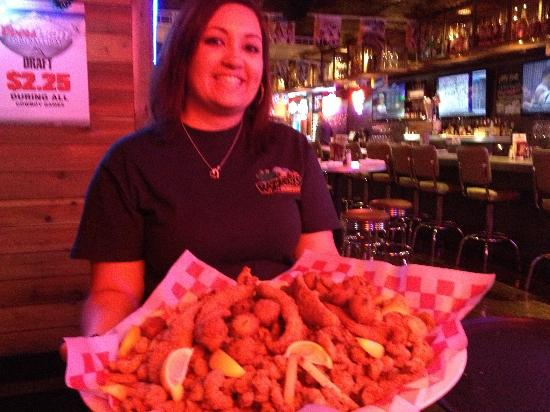 Mesquite, TX: Razzoo's Cajun Cafe: Jaws Seafood Platter