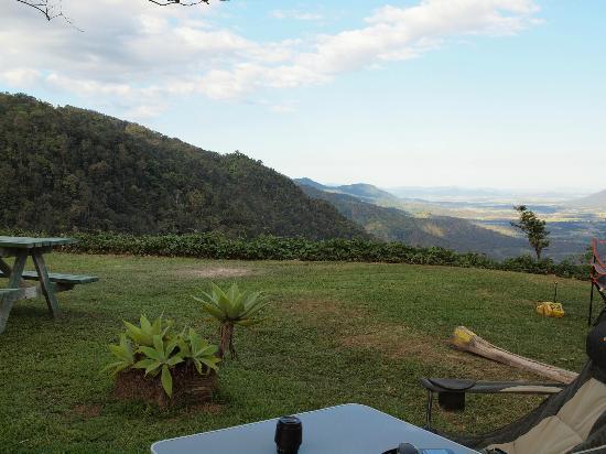 Explorers' Haven - Eungella Edge: View from the caravan park