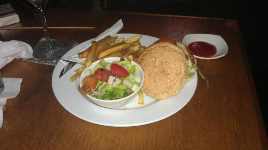 El Centro: Veggie Burger
