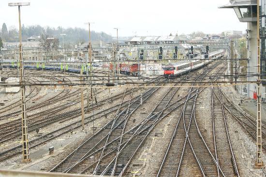 Old Town Bern : Linha férrea