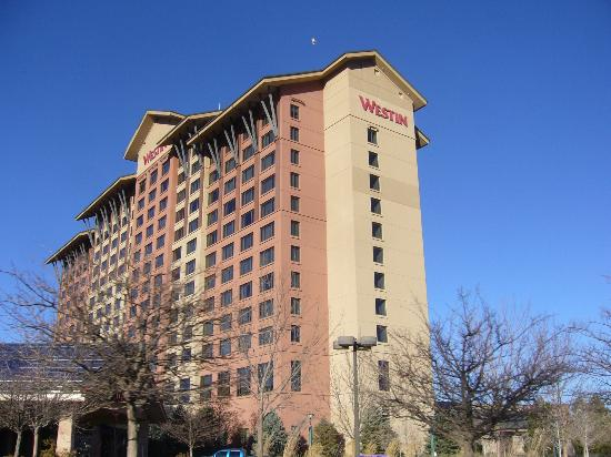 The Westin Westminster: View from parking area