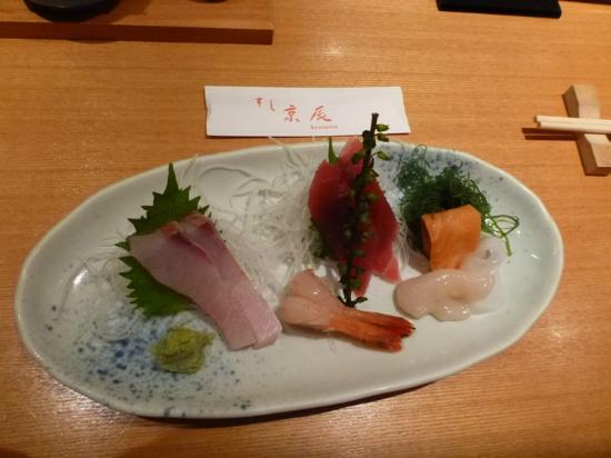 Sushi Kyotatsu Aqua City Odaiba ten: Cost ~2800 Yen