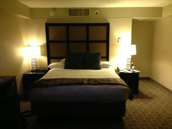 Hyatt Regency Louisville: king bed