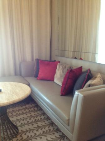 Resorts World Sentosa - Equarius Hotel: The L-shape Sofa