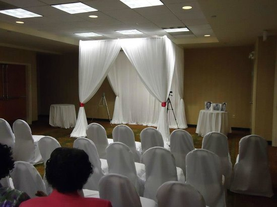 Wedding setup picture of hilton garden inn charleston - Hilton garden inn charleston airport ...