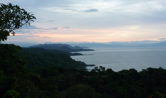Anamaya Resort & Retreat Center: view from yoga deck!