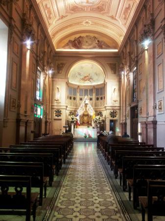 Cathédrale métropolitaine de Santiago du Chili : interior da Catedral