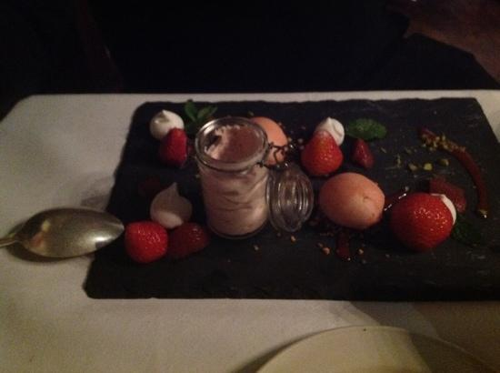 Muckross Park Hotel & Spa: just one of the amazing desserts!