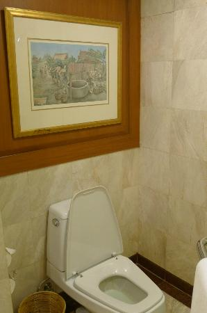 Swissotel Le Concorde: Spacious WC area