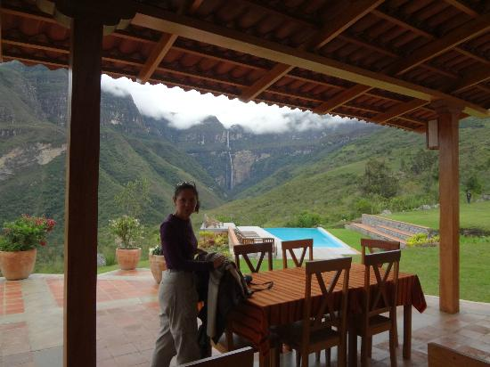 Gocta Andes Lodge : table set for breakfast