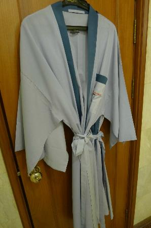 Swissotel Le Concorde Bangkok: bathrobes also provided
