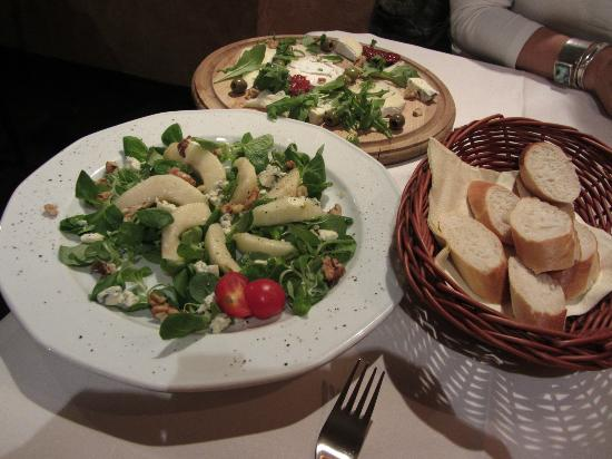 Nice Salad And Cheese Plate Picture Of Kuchnia I Wino Krakow