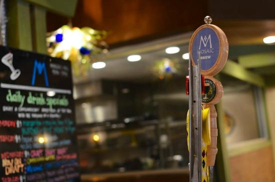 MOSAIC Restaurant Richmond: Craft beer on draft!- Pint Night is Monday Night