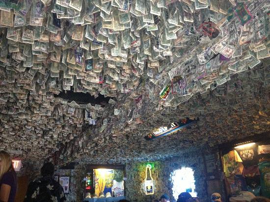 Show me the money! - Picture of No Name Pub, Big Pine Key ...