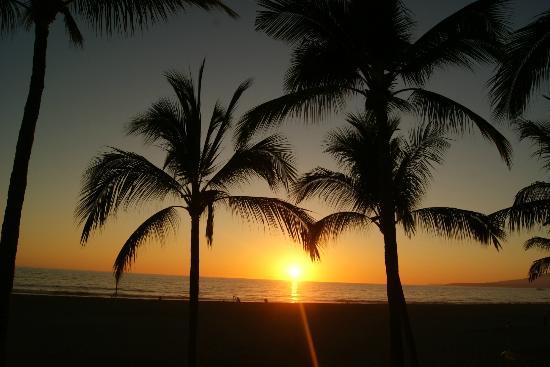 Nuevo Vallarta Beach: Esta foto fue tomada desde la orilla del hotel Mayan Palace de Nuevo Vallarta, Nayarit