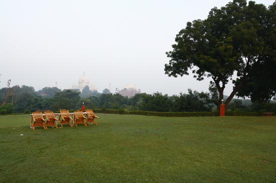 Hotel Taj Khema: Taj Khema Garden with Taj View