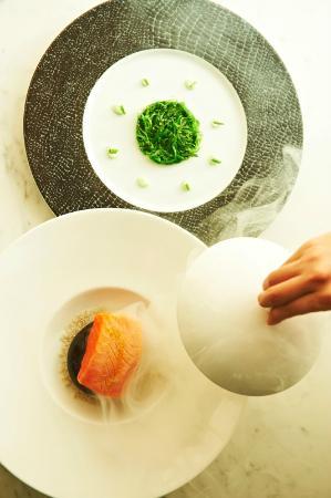 The Richardson Hotel & Spa: Tasmanian Ocean Trout - Opus Restaurant
