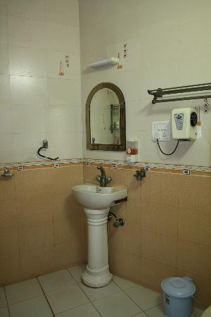 Hotel Taj Khema: swiss cottage bathroom