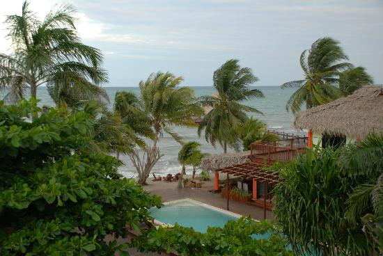 Robert's Grove Beach Resort: View from our room