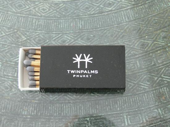 Twinpalms Phuket: details...