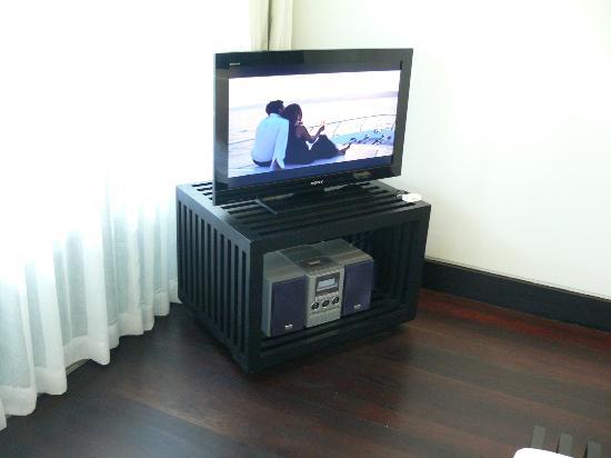 โรงแรมทวินปาล์ม: Good size TV